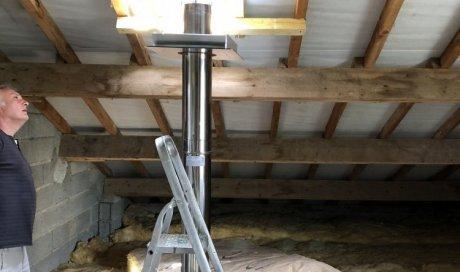 Rénovation d'un conduit de cheminée à Besançon